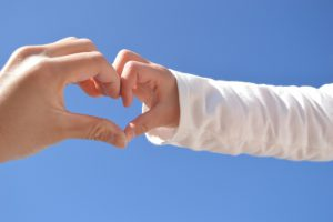 親と子の手