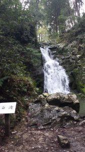 摂津峡公園の白滝