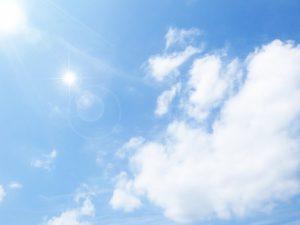 爽やかな空の写真